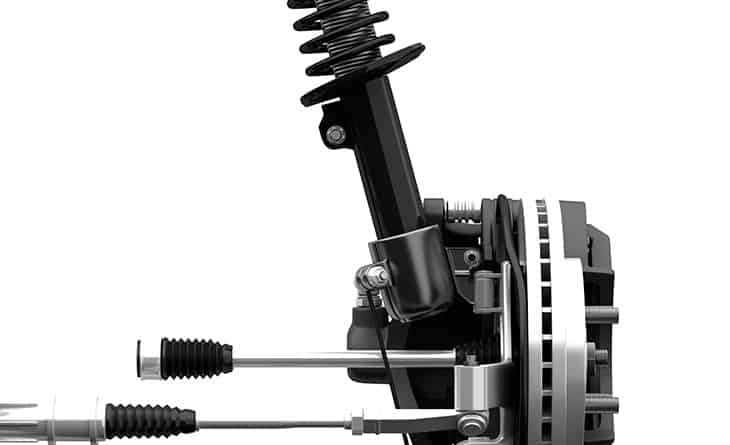 Sistema de suspensión variable de la gama Audi RS