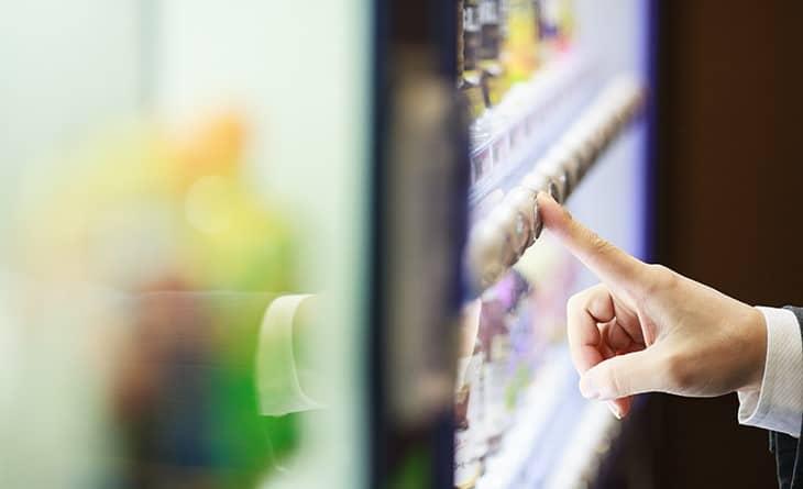 Accionamientos en máquinas vending