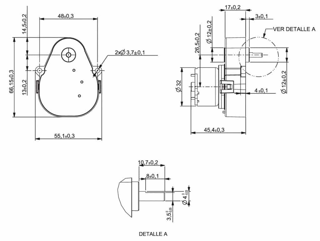 Example of a speed reducer design