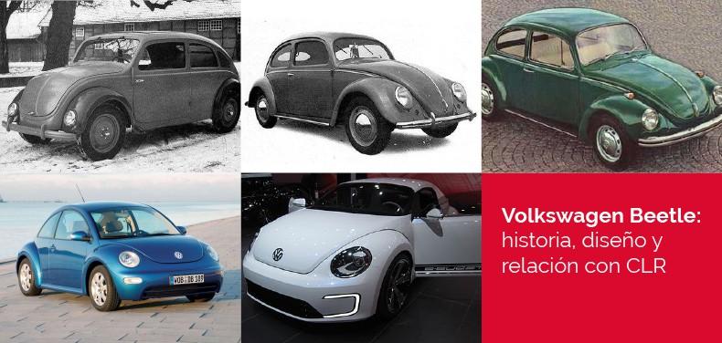 Evolución del Volkswagen Beetle