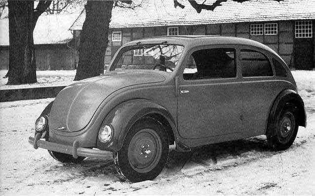 Primer modelo Beetle Tipo 32, primer Wolswagen Beetle: historia