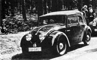 Tipo 60, primer Beetle en versión descapotable