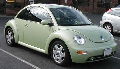 1998 New Beetle Model