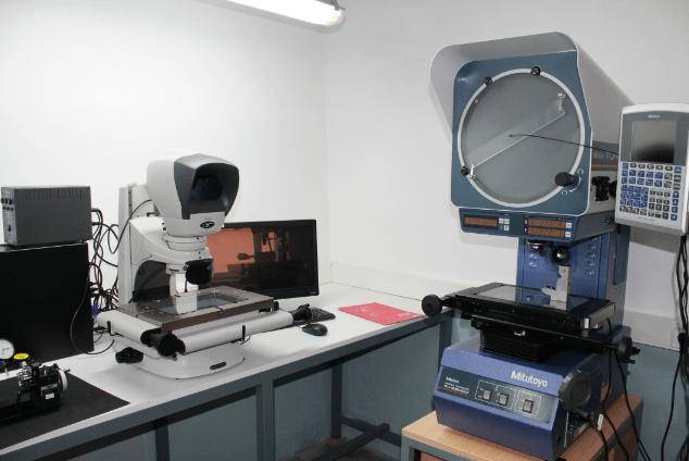 CLR's quality laboratory