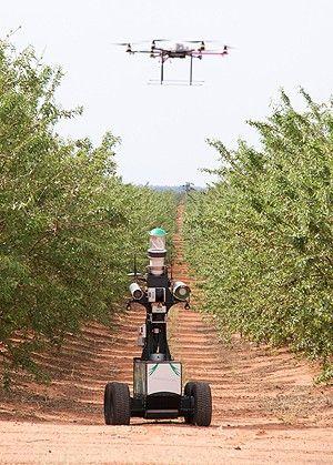 actuadores eléctricos en robots para agricultura