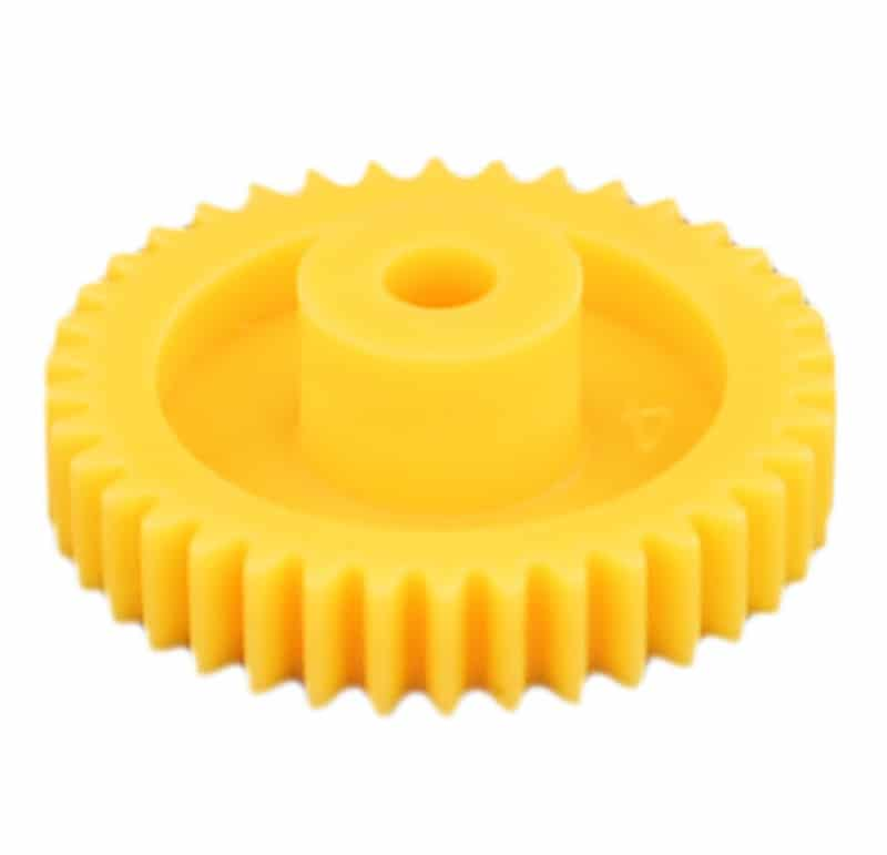 Engranaje recto de plástico Mootio