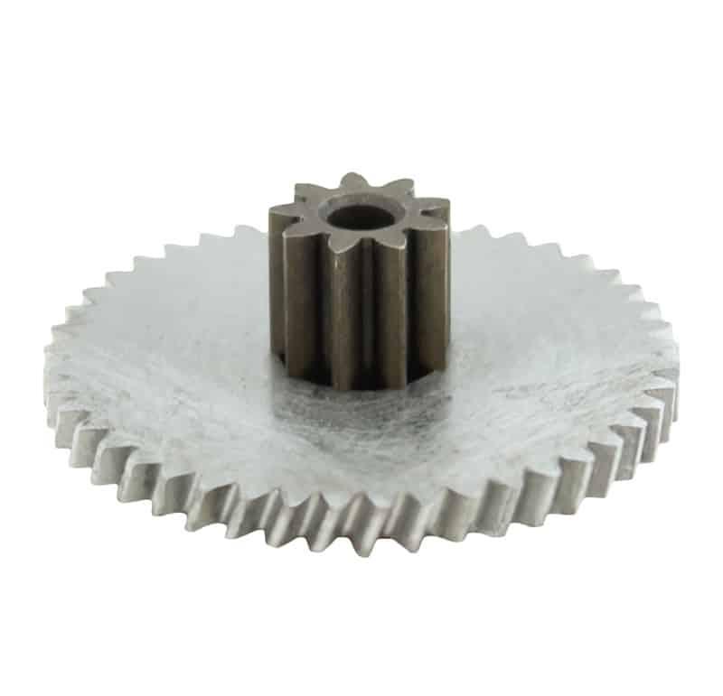 Engranaje helicoidal de metal Mootio