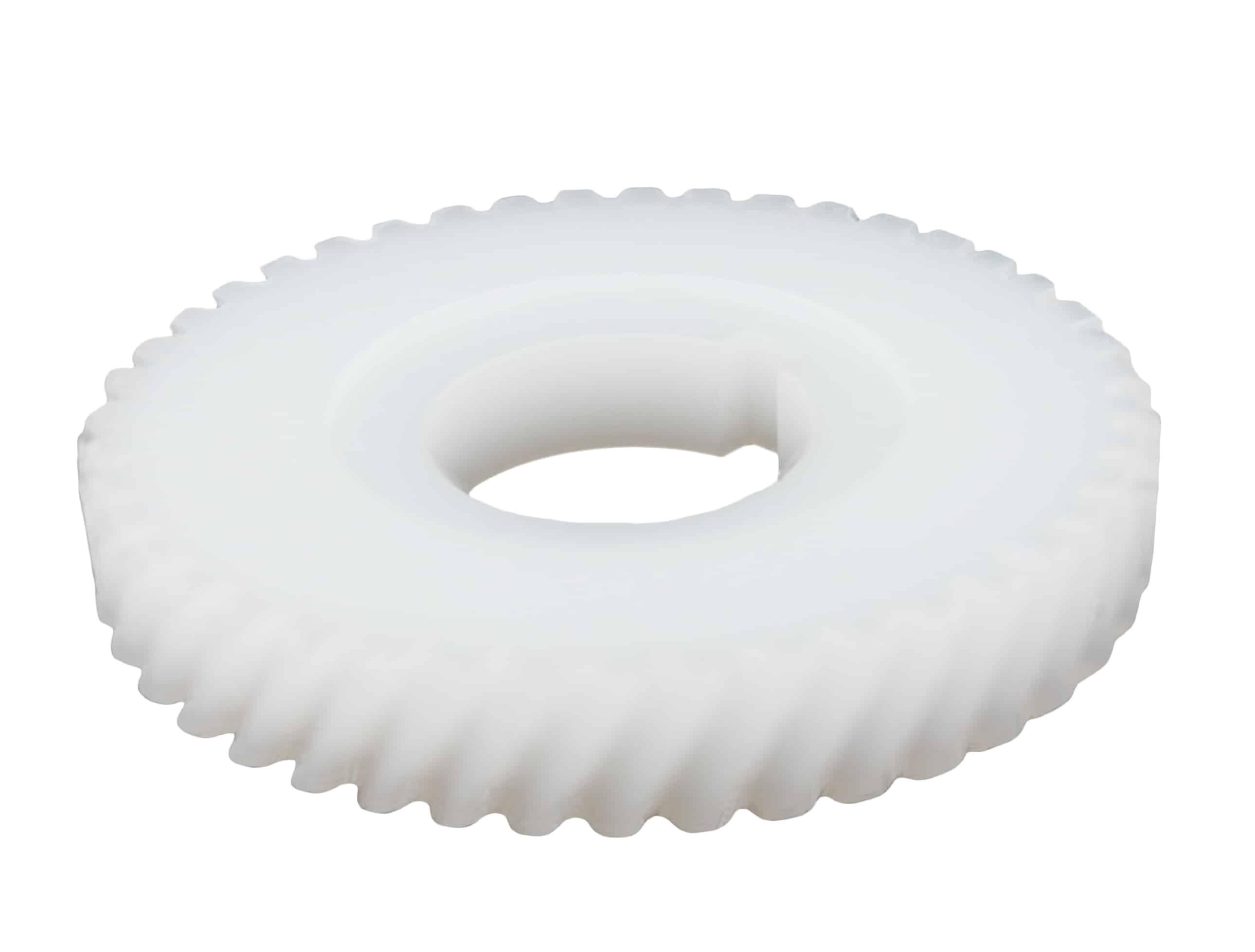 Engranaje helicoidal de plástico mootio