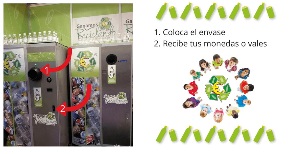 Máquina vending con incentivos