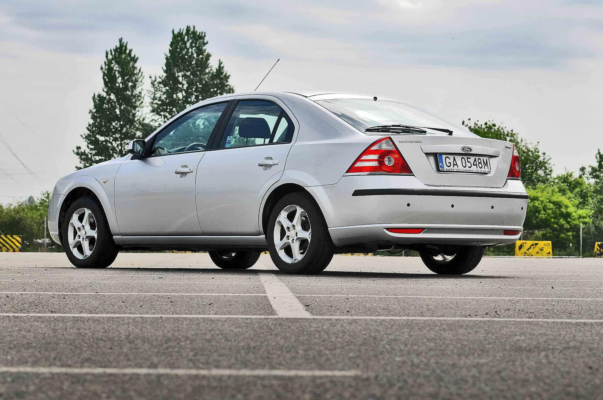 Ford Mondeo: second generation