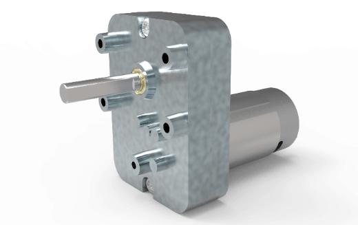 CLR Parallel shaft gear motor