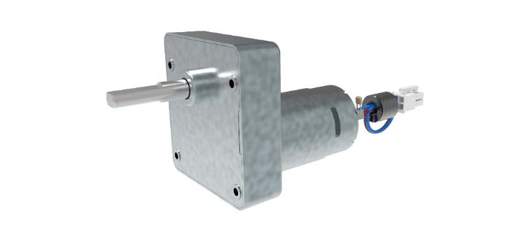 CLR parallel shaft gear motors