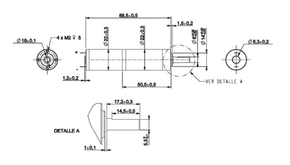 CLR gear motor design