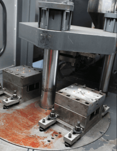 Multi component injection molding