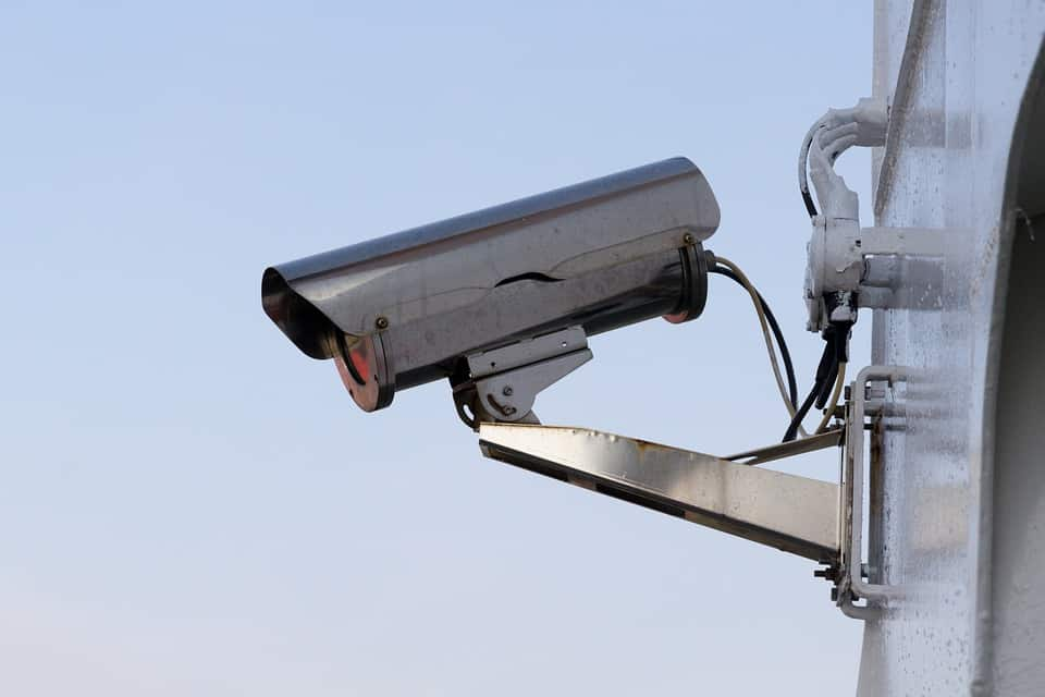Gear motors for rotating security cameras