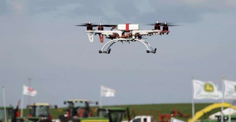 Drones for grazing monitoring