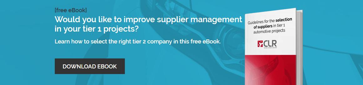 Automotive Suppliers Guide