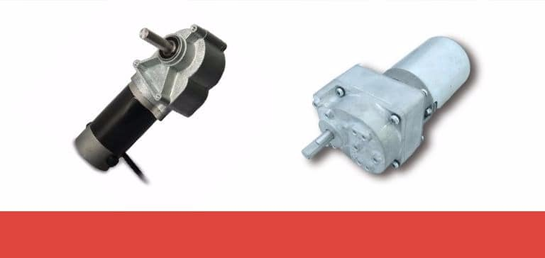 Right angle gear motors & parallel shaft gear motors: performance