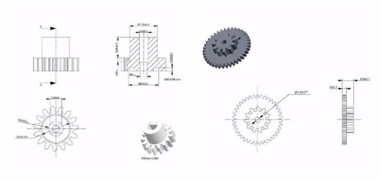 Gear calculation: essential ideas in your mechanical transmissions