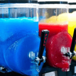 Density control system for slush machines