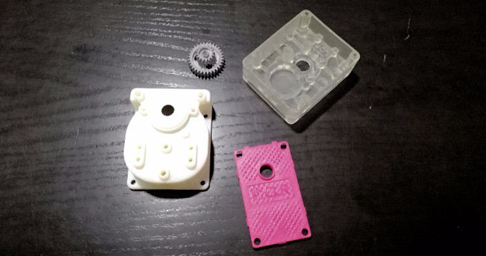 Piezas de prototipado rápido