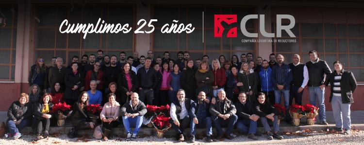 CLR cumple 25 años como partner de soluciones de accionamiento